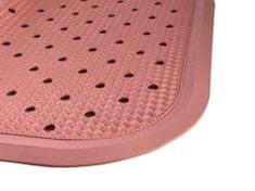 PROTISKLUZU Protiskluzová podložka do sprchy 56 x 56 cm - růžová