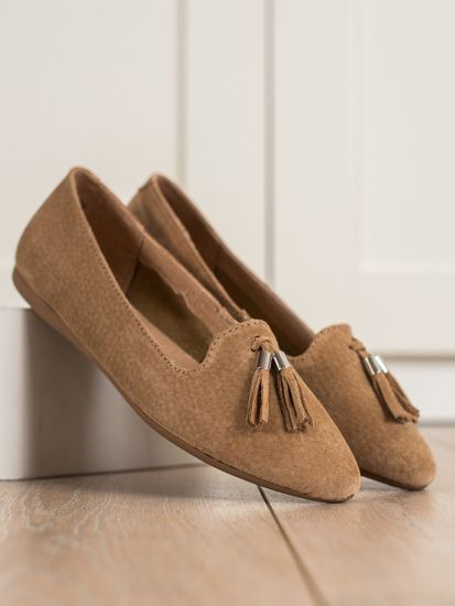 Női balerina cipő 70048 + Nőin zokni Gatta Calzino Strech