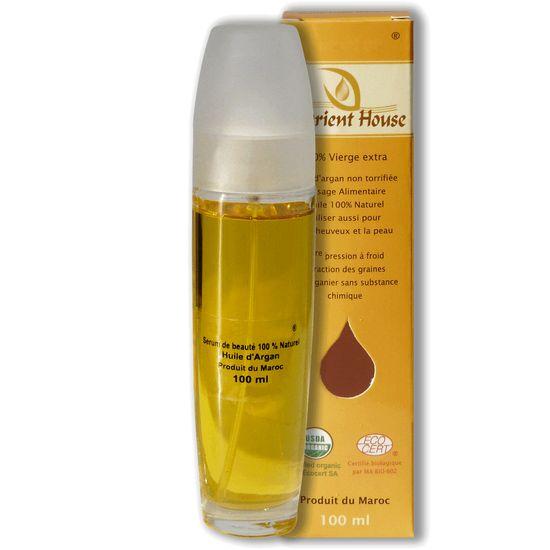 Orient House Set na vlasy so 100% bio arganovým olejom 100ml a šampónom 200ml s minerálmi z Mŕtve mora