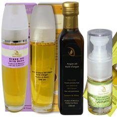 Orient House Marocká bio sada s arganovým a opunciovým olejom