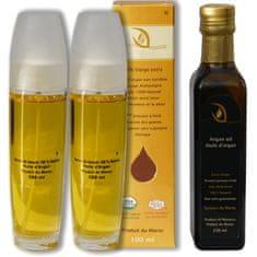 Orient House Arganový olej sada 3ks priamo z Maroka