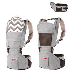 Sinbii Nosítko pro mimina Sinbii Premium Hipseat S-Fit Set, Stříbrno - šedá