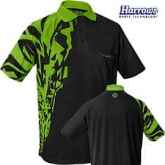 Harrows Košile Rapide - Black & Green - S