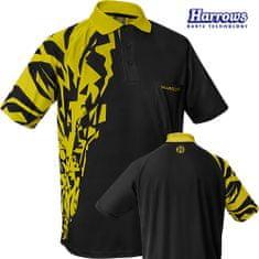 Harrows Košile Rapide - Black & Yellow - S