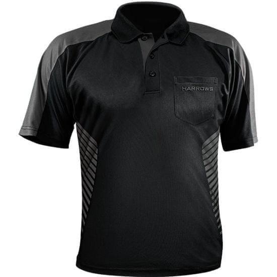 Harrows Košile Vivid - Black & Grey