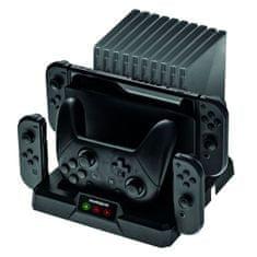 Snakebyte Dual Charge:Base S polnilna postaja Nintendo Switch
