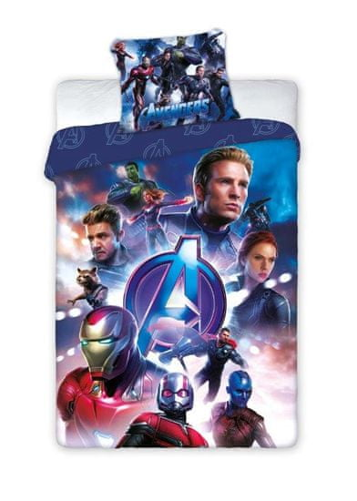 FARO Textil Dětské povlečení Avengers 140x200 cm