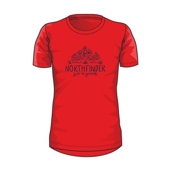 Northfinder Mara ženska majica