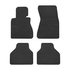 MAMMOOTH Gumové koberce, BMW 7 (E65, E66, E67) (Sedan) 07.2001-08.2008, černá, sada 4 ks