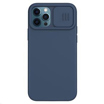 Nillkin CamShield Silky silikonska maskica za iPhone 12/12 Pro, plava (57983102505)
