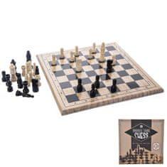 Indecor Šachy dřevo 29x29 cm