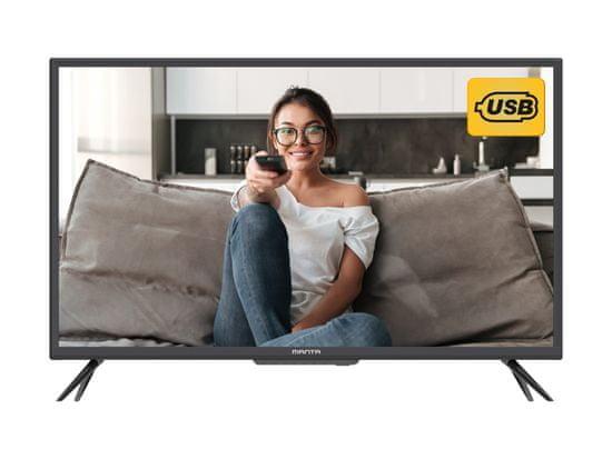 Manta 32LFN69D LED TV, 81cm (32), Full HD, USB, HMDI, črn