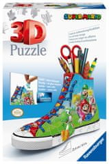 Ravensburger puzzle 3D, przybornik Super Mario, 108 elementów
