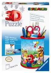 Ravensburger puzzle 3D, przybornik Super Mario, 54 elementy