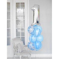 Kraftika Balonkový buket - 1 rok, pro kluka