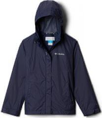 Columbia 1580631468 Arcadia dekliška nepremočljiva jakna, temno modra, XS