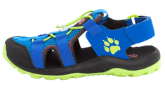 Jack Wolfskin Fiú outdoor túraszandál Outdoor Action Sandal Kids 4038791, 26, kék
