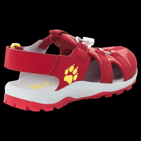 Jack Wolfskin Lány outdoor túraszandál Outdoor Action Sandal Kids 4038791