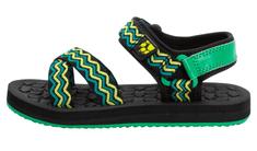 Jack Wolfskin Zulu Kids 4039891 otroški sandali, 33, črni