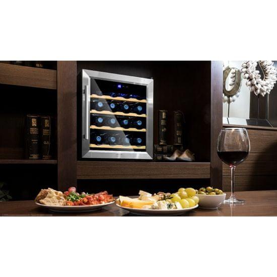 Cecotec GrandSommelier 1600 SilenceWood vinska vitrina