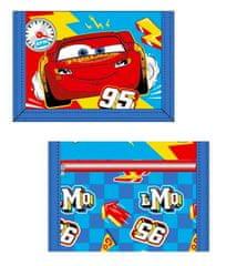"SETINO Otroška tekstilna denarnica ""Cars"" - modra"
