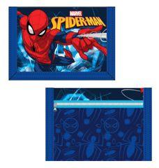 "SETINO Otroška tekstilna denarnica ""Spiderman"" - modra"