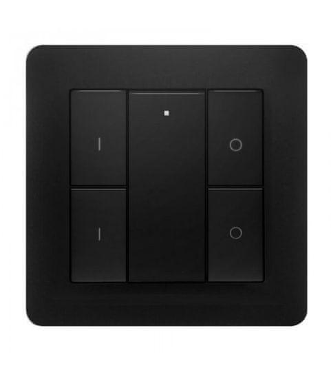 Heatit HEATIT Z-Push Button 4 - Čierny
