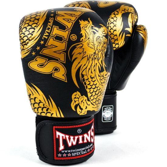 Twins Boxerské rukavice TWINS SPECIAL FBGVL3 Dragon - black/gold