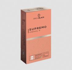 BrewBlack Kawa SUPREMO 6x10 kapsułek