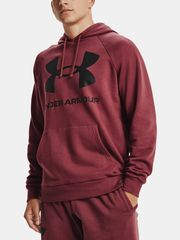 Under Armour Pulover UA Rival Fleece Big Logo HD-RED S