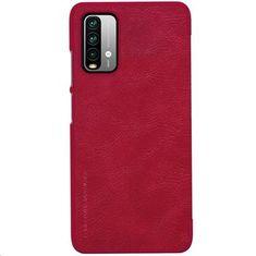 Nillkin Etui ochronne Qin Book dla Xiaomi Redmi 9T 57983102279, czerwone