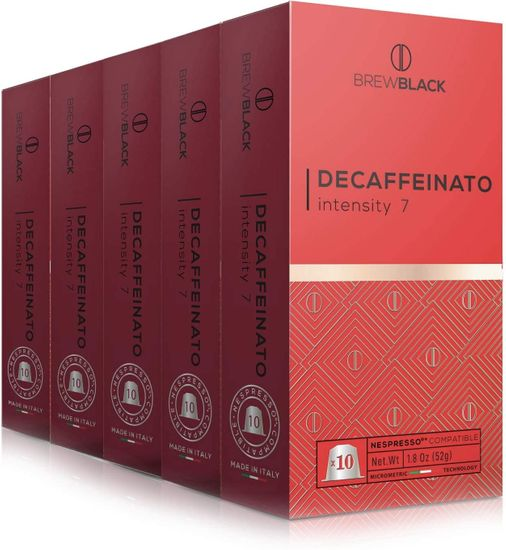 BrewBlack Decaffeinato kava, 10 kapsula kave