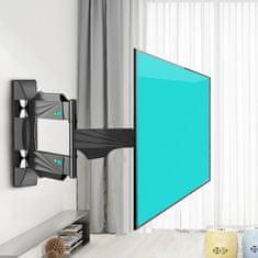 STRICT BRAND Q4 Kvalitní otočný, sklopný, délkově nastavitelný držák na Tv