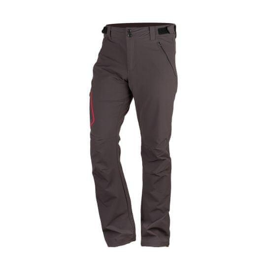 Northfinder Kemet moške pohodne hlače, črne, temno sive