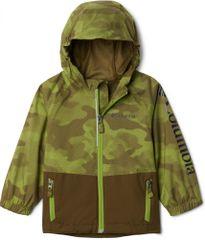 Columbia otroška nepremočljiva jakna Dalby Springs Jacket 1877673327, XS, zelena