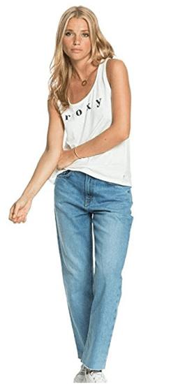 ROXY Női trikó Closing Party Word ERJZT05118-WBK0