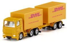 SIKU Blister 1694 DHL teherautó pótkocsival