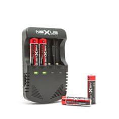 Nexus Polnilec baterij z LED indikatorjem polnjenja