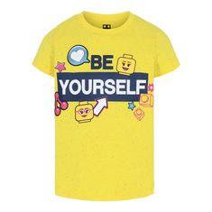 LEGO Wear LW-12010073 majica za djevojčice, žuta, 98