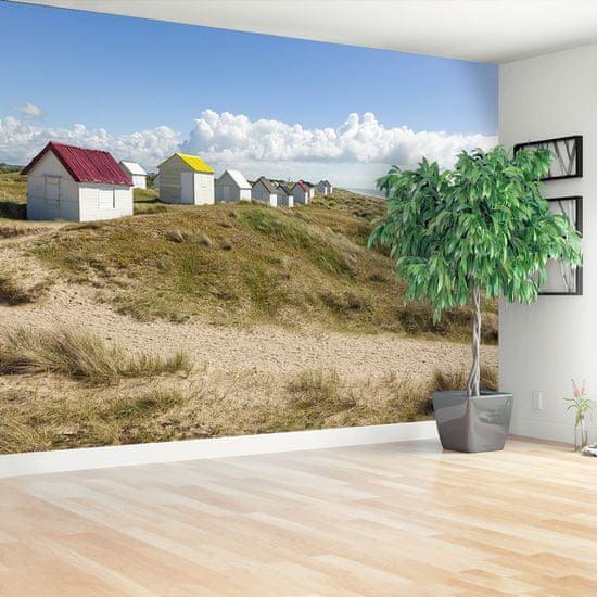 tulup.cz Fototapeta Samolepící Dunes beach 104x70 cm