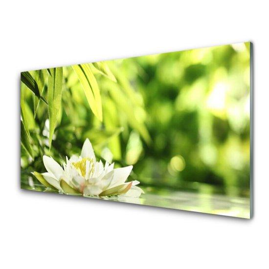 tulup.cz Nástenný panel Kvet listy 140x70cm