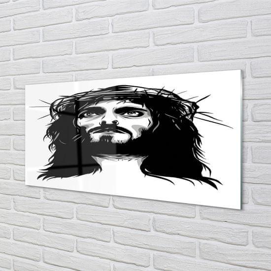 tulup.cz Obraz na akrylátovom skle Ilustrácie ježiša 100x50cm