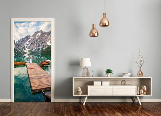 tulup.hu Ajtó méretű poszter Wilderness Mountain View