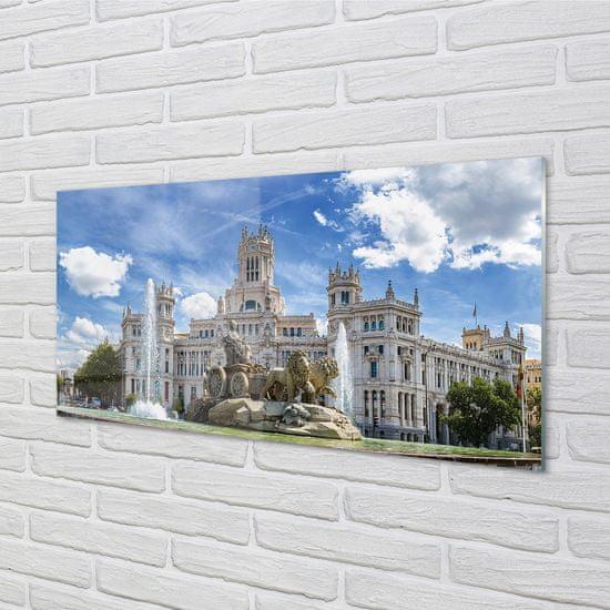 tulup.sk Nástenný panel Spain Fountain Palace Madrid
