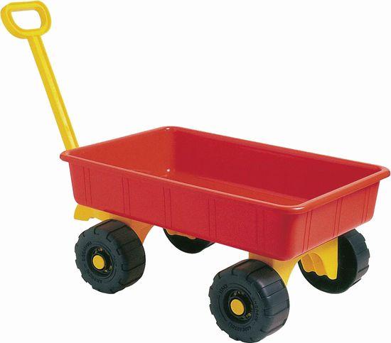 Androni Záhradný vozík červený, 52 cm