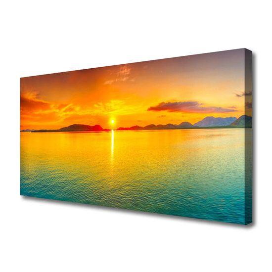 tulup.si Slika na platnu Sea sun landscape