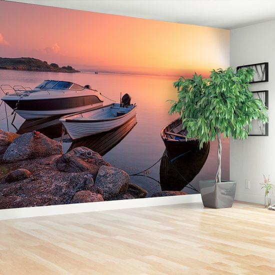 tulup.cz Fototapeta Samolepící Lode sunrise 152x104 cm