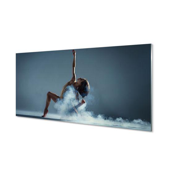 tulup.cz Nástenný panel Žena tancuje dym 120x60cm
