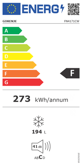 Gorenje mrazák FN4171CW
