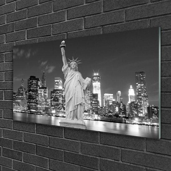 tulup.cz Obraz na skle Socha slobody new york 120x60cm